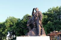 烈士纪念陵园雕塑