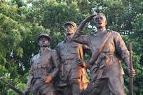 茂名陵园局部雕塑