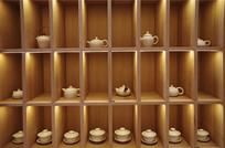 茶壶博古架