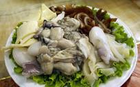 打边炉食材-牛杂和海鲜