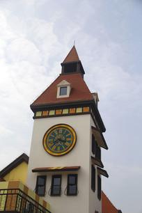 欧式小镇城堡