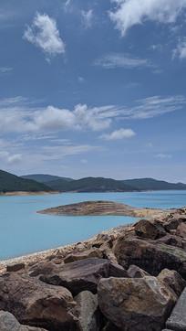 香港万宜水库堤坝