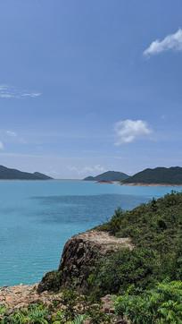 香港万宜水库湖面