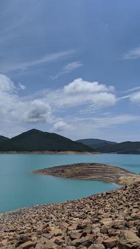 香港万宜水库碎石滩