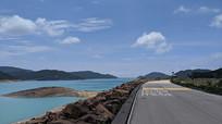 香港万宜水库沿湖公路
