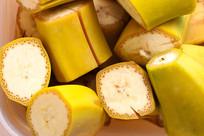 切块的香蕉