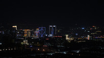 夜晚城市景色