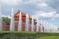 天安门喷泉