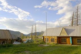 西北第一村新疆白哈巴村