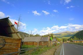 新疆白哈巴村