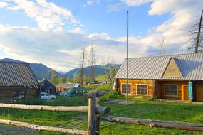 新疆-白哈巴村