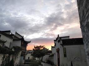 安徽黄山屏山村古建筑