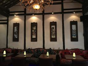 咖啡馆内饰