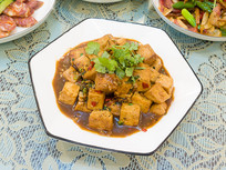 美味食品红烧豆腐