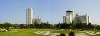 青岛汇泉广场及城市建筑