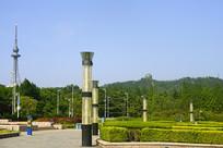 青岛汇泉广场及青岛电视观光塔
