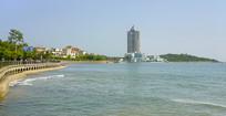 青岛汇泉湾大海风光