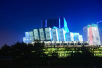重庆大剧院右侧面全景