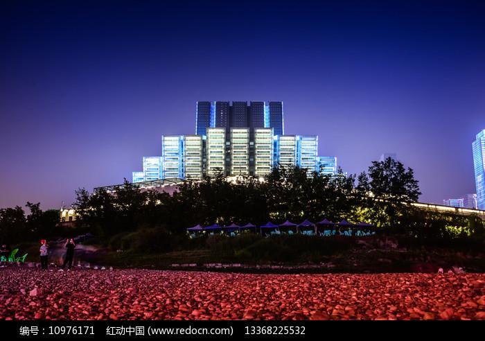 重庆大剧院正面近景图片