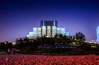 重庆大剧院正面近景