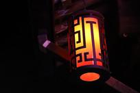 大运河边的历史文化街区装饰灯