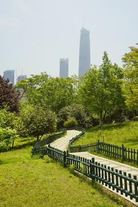青岛植物园园林及城市建筑