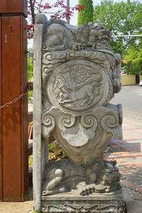 中国传统门枕石
