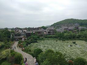 古镇建筑的风景