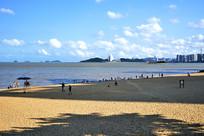珠海海天驿站沙滩