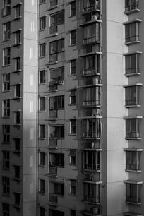 高层住宅窗户