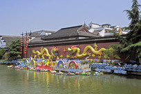 南京夫子庙-秦淮河大照壁