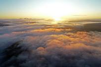 大兴安岭云端日出