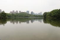 湖水上的风景