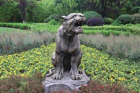十二生肖雕塑之虎雕刻