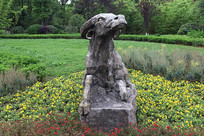 十二生肖雕塑之牛雕刻