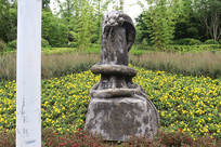 十二生肖雕塑之蛇雕刻