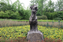 十二生肖雕塑之羊雕刻