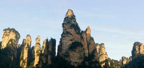 张家界国家森林公园大峰林全景