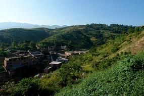 中国西部农村风光