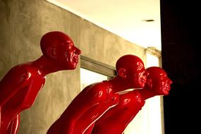 红砖厂艺术区雕塑