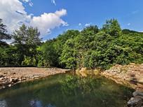 绿水青山的生态环境