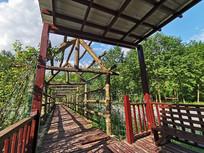 农家乐绿色生态观光长廊