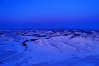 额尔古纳冬季雪域雪原
