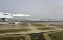 上海浦东国际机场航拍