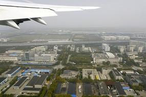 上海浦東-機場高速地區鳥瞰