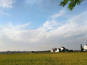 乡村风景图