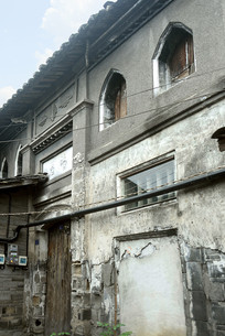元通古镇老砖瓦楼房