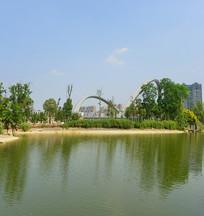 成都江滩公园-科华南路大桥
