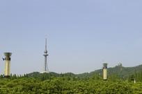 青岛汇泉广场-青岛电视观光塔