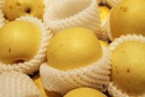 黄色水果梨子摄影